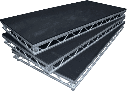 Litedeck stage sections