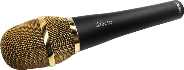 DPA d:facto microphone