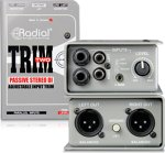 Radial Trim Two - Passive Stereo Direct Box with Level Control
